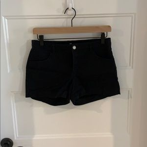 Preowned Black H&M Shorts